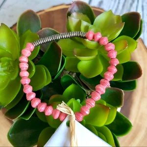 🆕NWT Noonday retired bracelet in pink
